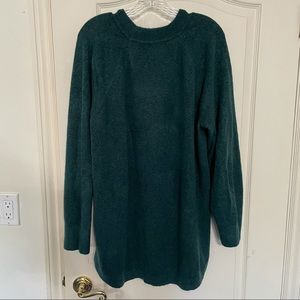 Loft   'Mock Neck' Tunic Style Sweater